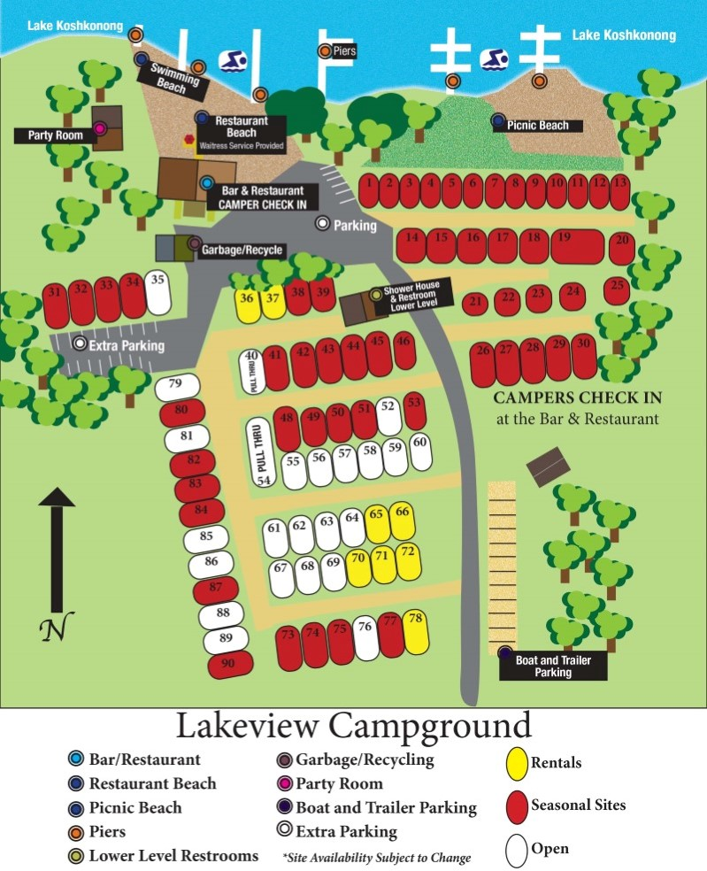 Lakeview campground map.indd